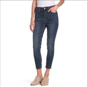 Lucky Brand Bridgette High Rise Cropped Jeans